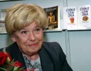 19.05.2006 Warszawa , 51. Miedzynarodowe Targi Ksiazki , n/z Joanna Chmielewska fot Jacek Rajkowski/REPORTER